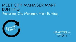 Meet City Manager Mary Bunting