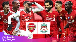 Arsenal vs Liverpool | Classic Premier League Goals | Lacazette, Salah, Mane