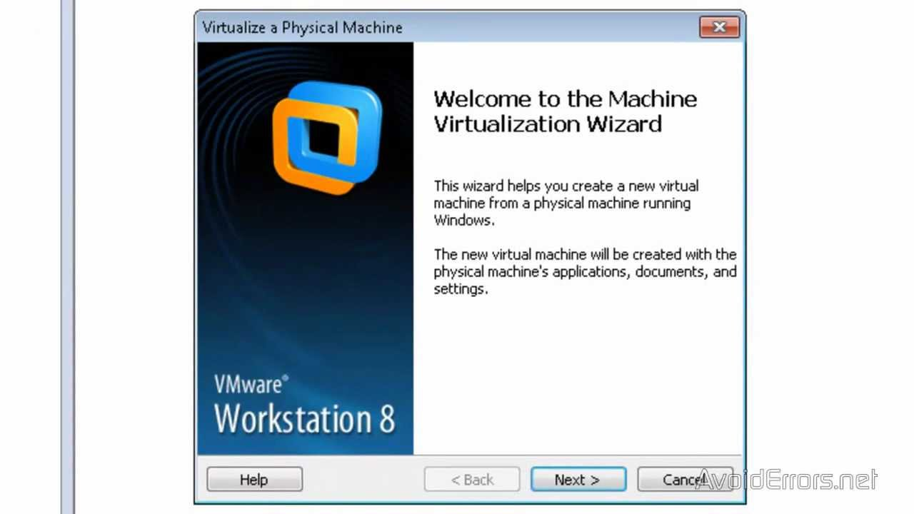 Convert a Computer on the Network Into Virtual Machine