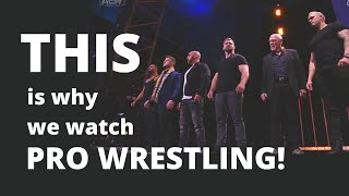 THIS is why we watch wrestling! | Pro Wrestling Talk Show | #shorts #youtubeshorts