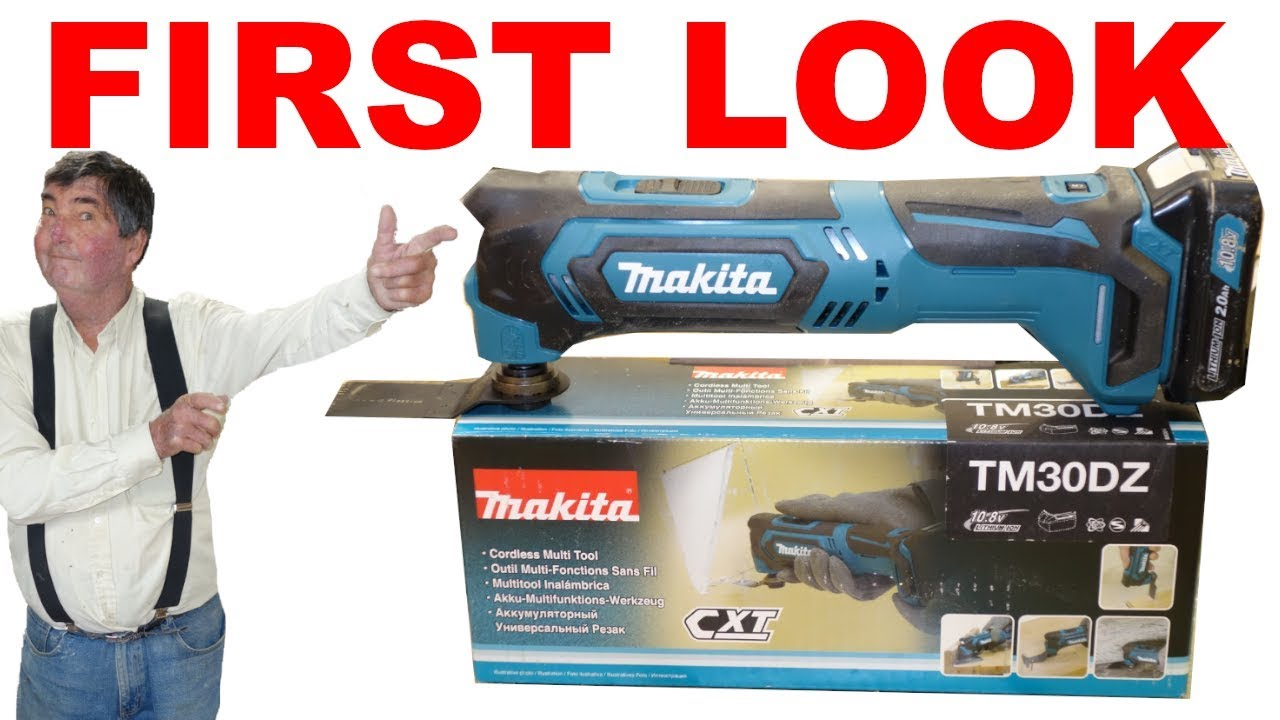 Makita 10 8V CXT TM30DZ Multi-Tool - First Look