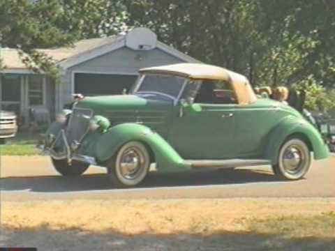 Old Car 1936 Ford Rumbleseat