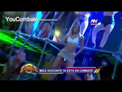 LA PRESENTACION DE MICA EN COMBATE PERU!!! YouCombate