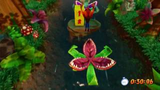 Crash Bandicoot N.Sane Trilogy - Upstream (1-5) Time Trial Gold Relic