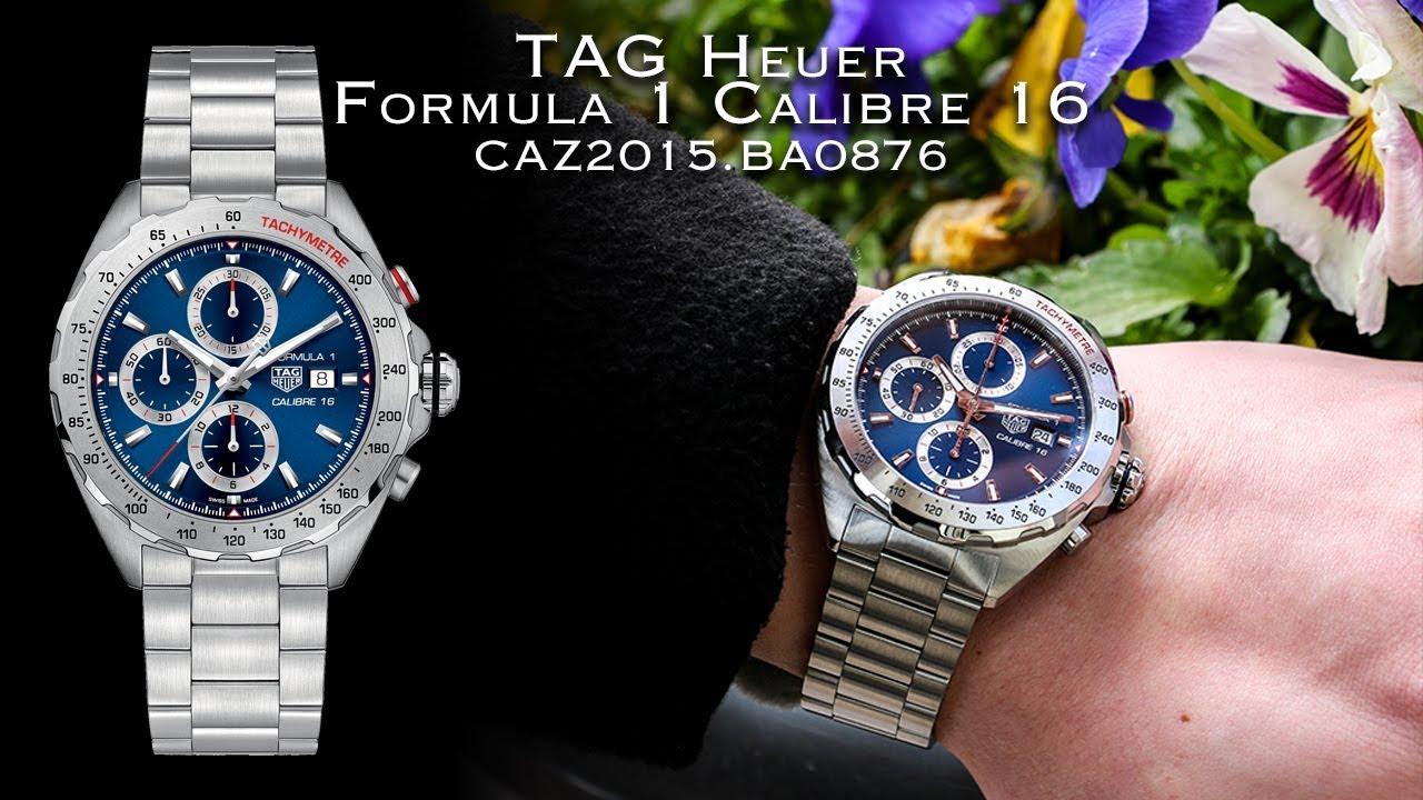 f482e6f7e9a7 TAG Heuer Formula 1 Calibre 16 (CAZ2015.BA0876) Unboxing   Showcase. AMJ  Watches