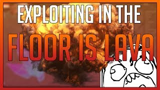 ROBLOX - Exploiting on The Floor is Lava