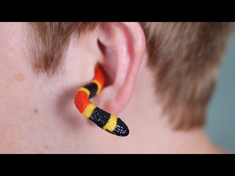 Thumbnail: SNAKE IN EAR!