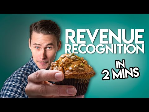 Revenue Recognition Principle in TWO MINUTES!