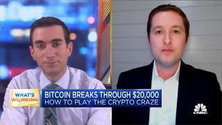 How investors can play the crypto craze as Bitcoin breaks through $20,000