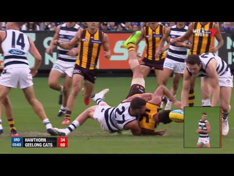 Round 4 AFL - Hawthorn v Geelong Highlights