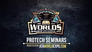 2019 Worlds Protech Seminar Double Bahng Mahng Ee   ATA Martial Arts