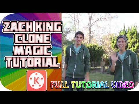 Zach king clone magic trick tutorial    Zach king magic tutorial in kine master