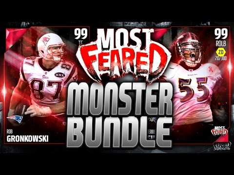 MOST FEARED GRONK AND SUGGS! | MONSTER BUNDLE! | MUT 16 PACK OPENING