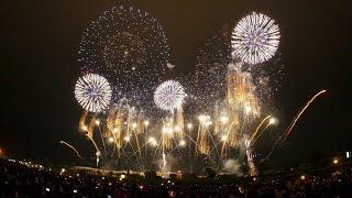【4K】大会提供「土浦花火づくし」2016土浦全国花火競技大会