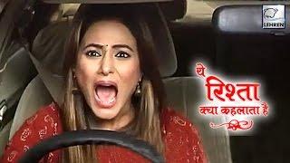 Akshara's Car Accident Scene In 'Yeh Rishta Kya Kehlata Hai' | On Location