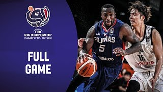 Alvark Tokyo v Meralco Bolts - Full Game - FIBA Asia Champions Cup 2018