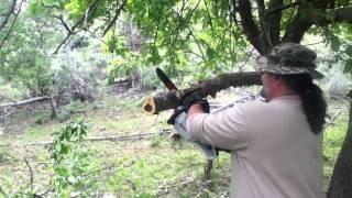 Greenworks vs Oregon PowerNow 40 volt cutting comparisons