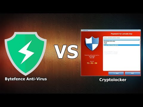 Bytefence VS Cryptolocker {A-V Test #10}