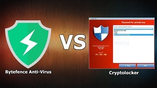 Bytefence VS Cryptolocker {A-V Test #10}