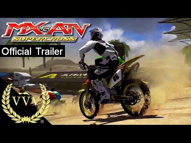 MX vs ATV Supercross Encore trailer & info