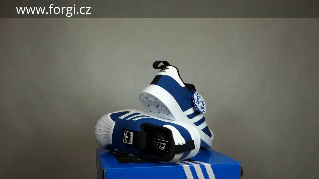 b9f58615fcb Dětské boty adidas Originals SUPERSTAR 360 I S74740 - YouTube