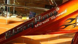 Велосипед Schwinn Sting-Ray (Чоппер)(Подростковый велосипед Размер велосипеда: Высота передней части - 91 см, Длина велосипеда - 190 см, Заднее коле..., 2015-08-06T15:52:35.000Z)