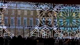 Лазерное шоу на Дворцовой. Спб.
