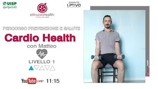 Cardio Health - Livello 1 - 9  (Live)