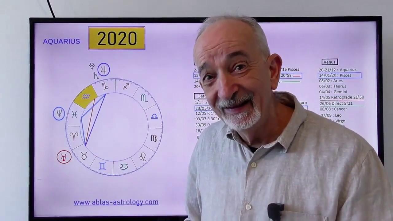 HOROSCOPE AQUARIUS 2020