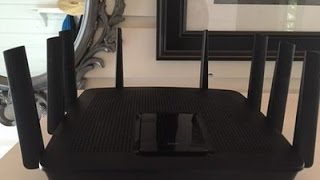 Linksys AC5400 Router Blogger Review
