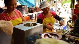 Exploring the food in Laos