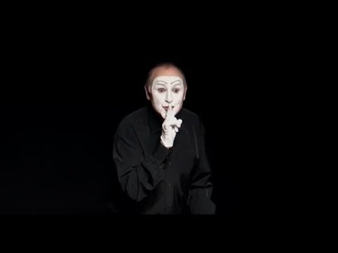 The Stone by Spanish Mime Actor Carlos Martínez