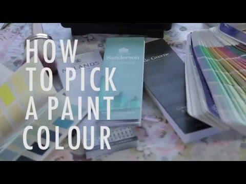 How To Choose Paint Colour by Great Interior Design Challenge's Sophie Robinson