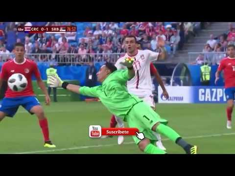 Costa Rica vs Serbia 0-1 MUNDIAL RUSSIA 2018 - Resumen