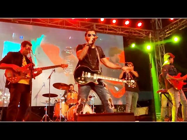 Bolo Bolo Tumne Kia Dekha - Live at Maritime Museum Rocking Performance by Talha Nadeem | Rockstar |