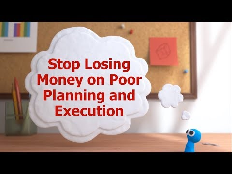 Don't Lose Money on Poor Planning and Execution in Your Business