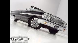 114119 1964 Ford Galaxie 500XL Convertible