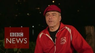 New York: Guardian Angels return to Central Park as crime rises - BBC News