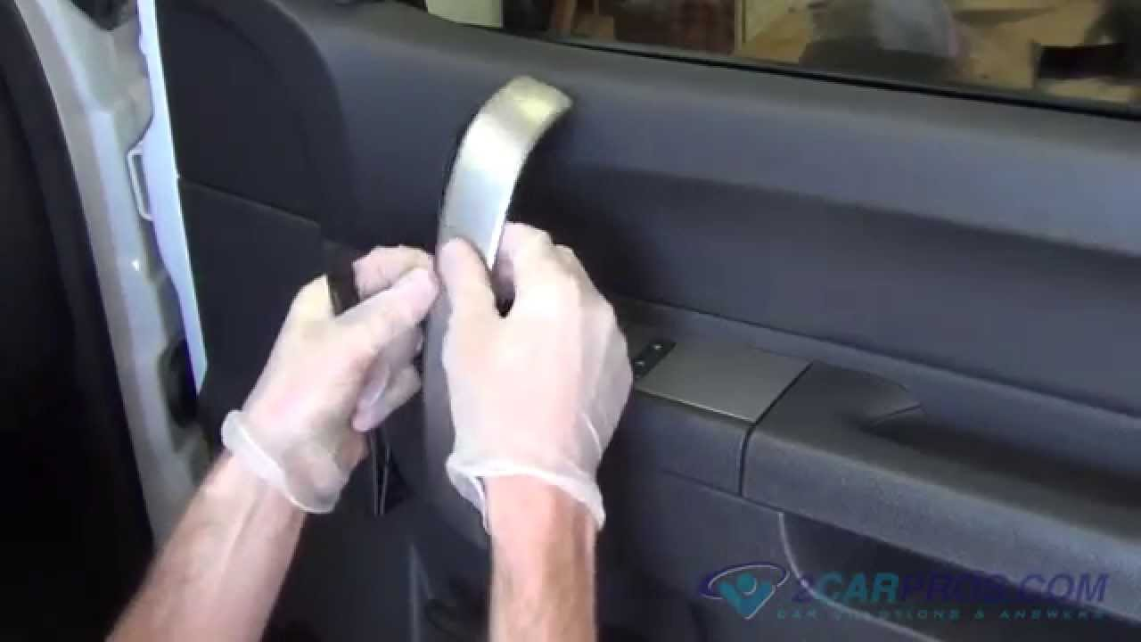 Front Door Panel Removal Speaker Replacement Chevrolet Silverado 2007 2013 Youtube