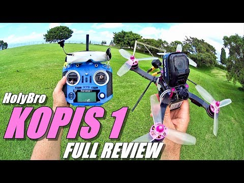 HolyBro KOPIS 1 Race Drone - Full Review - Unboxing / Setup / Flight-CRASH! Test / Pros & Cons
