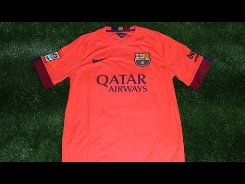 sports shoes 9f61d 04985 Nike Barcelona 2014-2015 Away Jersey Review