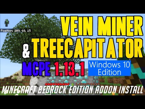 how-to-get-veinminer/treecapitator-in-mcpe-1.13.1---download-veinminer-addon-(in-windows-10-edition)