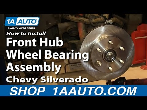 How to Replace Wheel Bearing & Hub 99-06 Chevy Silverado 1500