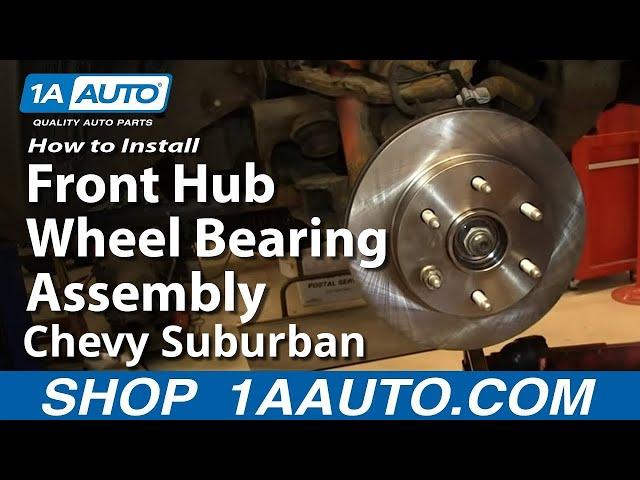 Front Wheel Bearing and Hub Assembly fits 2006 Chevrolet Silverado 2500 HD