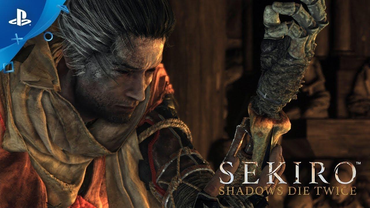 Sekiro: Shadows Die Twice   E3 2018 Reveal Trailer   PS4