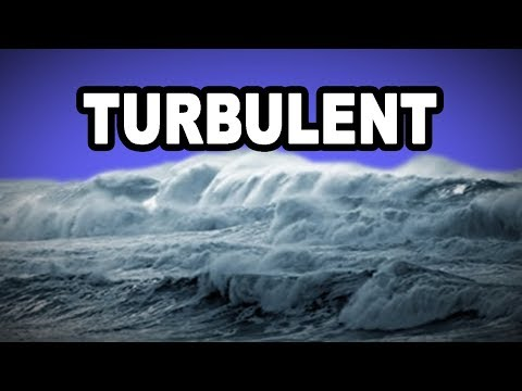 Learn English Words: TURBULENT - Meaning, Vocabulary with Pictures and Examples