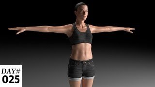 Adobe Fuse Characters: Realistic Eye Light and PBR Skin Shader in Cinema 4D