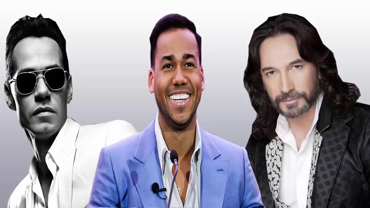 Romeo Santos , Marc Anthony, Marc Antonio Solis Exitos ROmánticos 2020