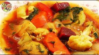Летнее овощное рагу с куриной грудкой 2. Просто, вкусно, недорого.