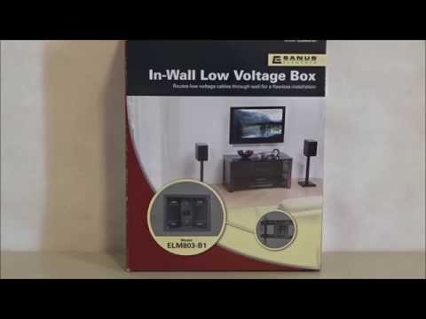 In Wall Low Voltage wire hide kit by Sanus review